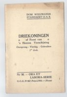 1932 RELIGIE DRIEKONINGEN OF FEEST VAN 's HEEREN VERSCHIJNING - OORSPRONG VIERING GEBRUIKEN DOM W. STANDAERT - Culture