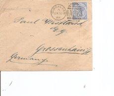 Gibraltar ( Lettre De 1888 De Gibraltar Vers L'Allemagne à Voir) - Gibraltar