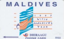 PHONE CARD MALDIVE (E50.4.2 - Maldiven