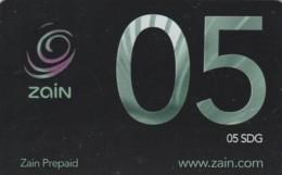 PREPAID PHONE CARD SUDAN (E50.8.1 - Soedan