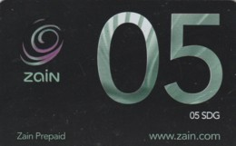 PREPAID PHONE CARD SUDAN (E50.8.1 - Soudan