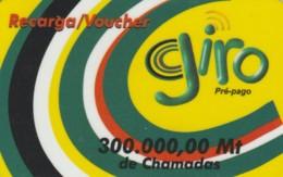 PREPAID PHONE CARD MOZAMBICO (E50.8.3 - Moçambique