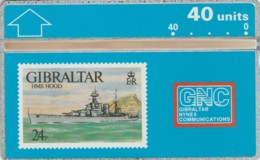 PHONE CARD GIBILTERRA (E50.11.2 - Gibraltar