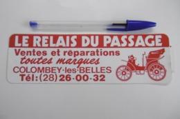 Autocollant Stickers AUTOMOBILE Garage LE RELAIS DU PASSAGE à COLOMBEY-LES-BELLES - Autocollants