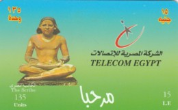 PREPAID PHONE CARD EGITTO (E50.25.3 - Aegypten