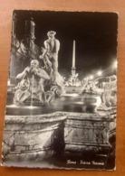 ROMA Piazza Navona Fontana Del Moro Cartolina - Piazze
