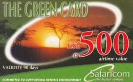 PREPAID PHONE CARD KENIA (PK1008 - Kenia