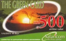 PREPAID PHONE CARD KENIA (PK1125 - Kenia