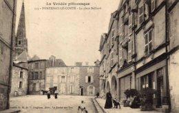 FONTENAY Le COMTE  -  La Place Belliard - Fontenay Le Comte