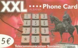 PREPAID PHONE CARD ALBANIA (PK746 - Albanië