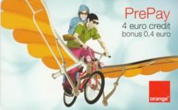 PREPAID PHONE CARD ROMANIA-ORANGE (PK748 - Romania