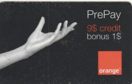 PREPAID PHONE CARD ROMANIA-ORANGE (PK749 - Romania