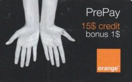 PREPAID PHONE CARD ROMANIA-ORANGE (PK755 - Romania