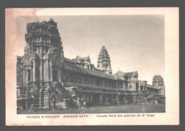 ប្រាសាទអង្គរវត្ត / Angkor Wat / Angkor-Vath - Ruines D'Angkor - Façade Nord Des Galeries Du 2e étage - Cambodge