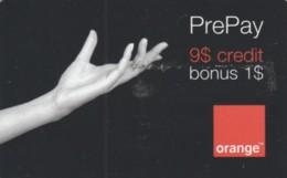 PREPAID PHONE CARD ROMANIA-ORANGE (PK823 - Romania