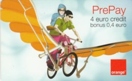 PREPAID PHONE CARD ROMANIA-ORANGE (PK820 - Rumania