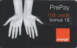 PREPAID PHONE CARD ROMANIA-ORANGE (PK819 - Romania