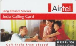 PREPAID PHONE CARD INDIA (PK796 - India
