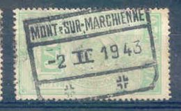 A114 -België  Spoorweg Chemin De Fer  Met Stempel  MONT SUR MARCHIENNE - 1923-1941
