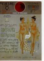 Sie Planetes GEMEAUX , Femmes Nues, Paon Blanc - Astrology