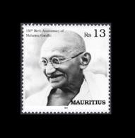 Mauritius (Ile Maurice) 2019 - 150th Birth Anniversary Of Mahatma Gandhi - 1v MNH Stamp - Mauritius (1968-...)