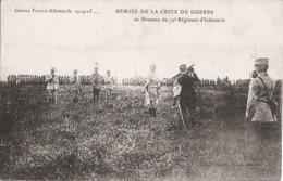 DECIZE Remise De La Croix De Guerre Au Drapeau Du 79e Régt D'Infanterie - Régiments