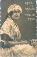 France VENCE 1926 Reine De Beauté Mimi Picco - Vence