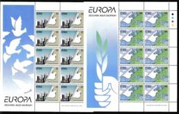 1995 Irlanda Ireland Eire EUROPA CEPT EUROPE 10 Serie Di 2v. MNH** In Minifoglio Minisheet - Europa-CEPT