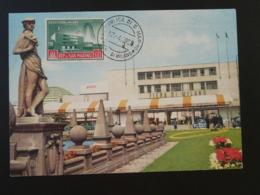 Carte Maximum Card Fiera Di Milano San Marino 1958 - Saint-Marin