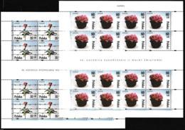 1995 Polonia Polen Polska EUROPA CEPT EUROPE 20 Serie Di 2v. MNH** In 2 Minifogli 2 Minisheets - Europa-CEPT