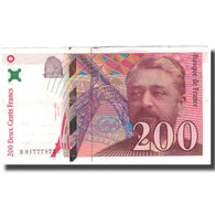 France, 200 Francs, Eiffel, 1996, TTB, Fayette:75.2, KM:159a - 1992-2000 Ultima Gama