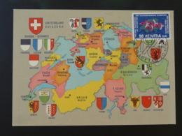 Carte Maximum Card Appel Téléphonique Automatique Suisse 1961 - Telecom