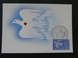 Carte Maximum Card Exposition Philatélique Europa Paris 1961 - Europa-CEPT