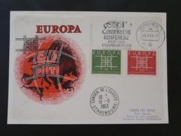 Carte Maximum Card Europa 1963 Allemagne Germany (Munchen) - Maximum Cards