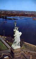 Aerial View Of The Statue Of Libeerty - Formato Piccolo Viaggiata – E 13 - Cartoline