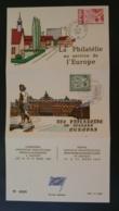 Carte Commemorative Card Exposition Philatélique Franco-allemande Europa 1966 - Europa-CEPT