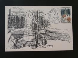Carte Maximum Card Forêt Vosgienne Foire National Forestière Epinal 88 Vosges 1966 - Bäume