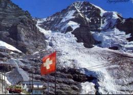 Eigergletscher Mit Eiger Und Monch - Formato Grande Viaggiata – E 13 - Cartoline