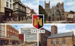 Exeter - Formato Piccolo Non Viaggiata – E 13 - Cartoline