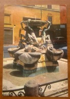 ROMA  Fontana Tartarughe Piazza Mattei  Cartolina Viaggiata 1970 - Piazze
