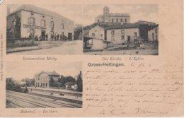 57 - HETTANGE GRANDE - 3 VUES - RESTAURANT MICHY - E. GREGOIRE - France