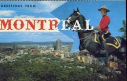Greetings From - Montreal - Formato Piccolo Viaggiata Mancante Di Affrancatura – E 13 - Cartoline