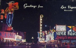 Greetings From Las Vegas - Nevada - Formato Piccolo Viaggiata – E 13 - Cartoline