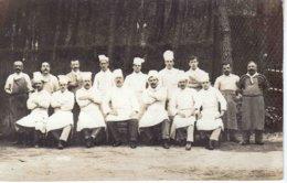 CARTE PHOTO  - Brigade De Cuisine  ( Carte Trouvée Dans Une Archive Parisiènne) - Bar, Alberghi, Ristoranti