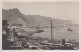 CPA Tenerife - Sta Cruz De Tenerife - Hacia San Andrès - Tenerife