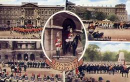 London's - Military Life - Formato Piccolo Viaggiata Mancante Di Affrancatura – E 13 - Cartoline