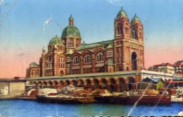 Marseills - Lacathedrale - Formato Piccolo Viaggiata Mancante Di Affrancatura – E 13 - Cartoline
