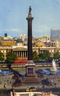 Nelson Colemn Trafalgar Square - Lopndon - Formato Piccolo Viaggiata Mancante Di Affrancatura – E 13 - Cartoline
