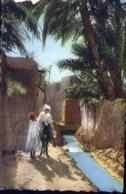Scenes Types D'afriquer Du Nord - Scene De Village Arabe - Formato Piccolo Viaggiata – E 13 - Cartoline