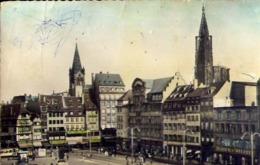 Strasbourg - La Place Klebar - Formato Piccolo Viaggiata Mancante Di Affrancatura – E 13 - Cartoline